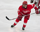 Matt Buckles (Cornell - 16) - The Harvard University Crimson defeated the visiting Cornell University Big Red on Saturday, November 5, 2016, at the Bright-Landry Hockey Center in Boston, Massachusetts.