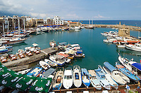 CYPRUS, North cyprus (turkish), Keryneia (Girne): small seaport at north-coast with mediterranean flair<br />