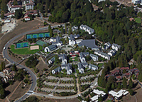 aerial photograph University of California Santa Cruz, UCSC, California