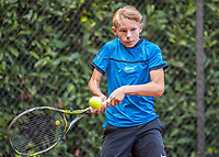 Hilversum, Netherlands, August 9, 2017, National Junior Championships, NJK, Tristan Schrier<br /> Photo: Tennisimages/Henk Koster