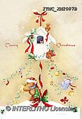 Marcello, CHRISTMAS ANIMALS, WEIHNACHTEN TIERE, NAVIDAD ANIMALES, paintings+++++,ITMCXM2087B,#XA# ,birdhouse