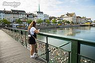 Image Ref: SWISS013<br /> Location: Zurich, Switzerland<br /> Date of Shot: 17th June 2017