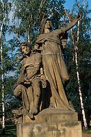Tschechien, Prag, Vysehrad, Libuse - Plastik von Jan Myslbek, Unesco-Weltkulturerbe