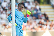 June 19th 2017, Kielce, Poland; UEFA European U-21 football championships, England versus Slovakia; Jordan Pickford (ENG)  sets a free kick wall late on