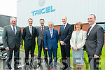 Richard Bruton ( Minister for Jobs, Enterprise and Innovation) photographed with Stack Family founders of Tricel Killarney at the company new jobs announcement last Friday.
