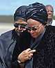 Qunu, South Africa: 14.12.2013: NELSON MANDELA BODY RETURNS TO QUNU<br /> WINNIE MANDELA(Nelson's former wife) AND HIS WIDOW GRACA MACHEL<br /> comfort each other as Mandela's body arrives at Mthatha Airport before its is transported to his burial at his home in Qunu, Eastern Cape, South Africa_14/12/2013<br /> Mandatory Credit Photo: &copy;NEWSPIX INTERNATIONAL<br /> <br /> **ALL FEES PAYABLE TO: &quot;NEWSPIX INTERNATIONAL&quot;**<br /> <br /> IMMEDIATE CONFIRMATION OF USAGE REQUIRED:<br /> Newspix International, 31 Chinnery Hill, Bishop's Stortford, ENGLAND CM23 3PS<br /> Tel:+441279 324672  ; Fax: +441279656877<br /> Mobile:  07775681153<br /> e-mail: info@newspixinternational.co.uk