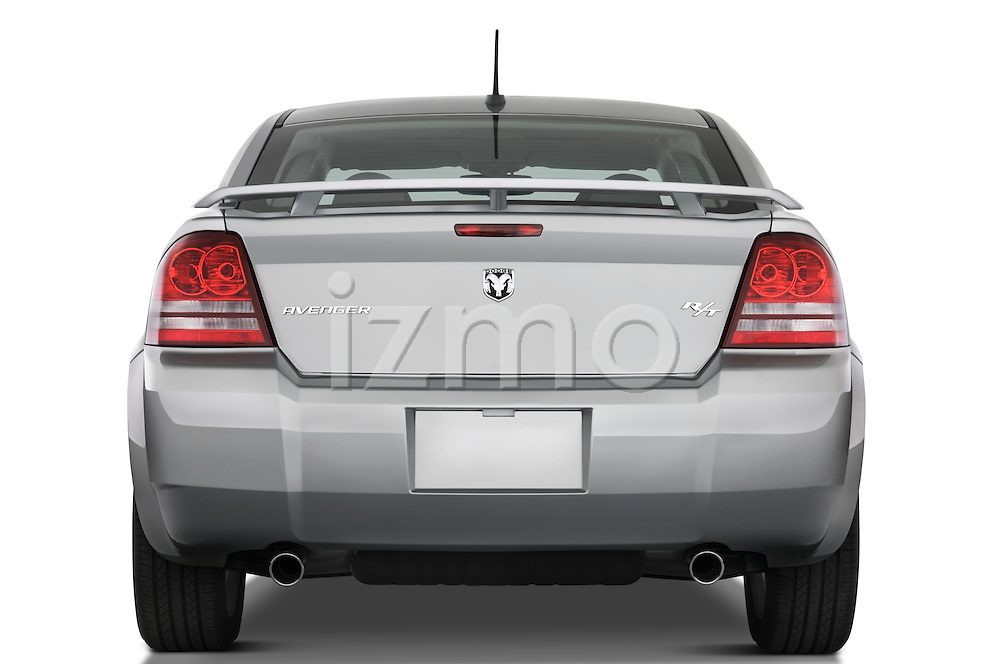 Straight rear view of a 2008 Dodge Avenger RT