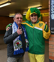 Blackburn  & Norwich fan<br /> <br /> Photographer David Horton/CameraSport<br /> <br /> The EFL Sky Bet Championship - Norwich City v Blackburn Rovers - Saturday 27th April 2019 - Carrow Road - Norwich<br /> <br /> World Copyright © 2019 CameraSport. All rights reserved. 43 Linden Ave. Countesthorpe. Leicester. England. LE8 5PG - Tel: +44 (0) 116 277 4147 - admin@camerasport.com - www.camerasport.com
