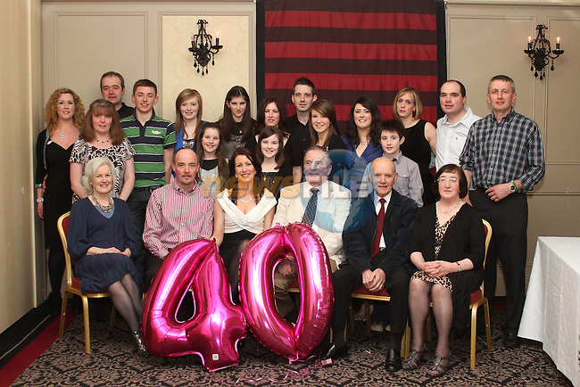 Jill Birch celebrates her 40th in The Westcourt...(Photo credit should read Jenny Matthews/www.newsfile.ie)....This Picture has been sent you under the conditions enclosed by:.Newsfile Ltd..The Studio,.Millmount Abbey,.Drogheda,.Co Meath..Ireland..Tel: +353(0)41-9871240.Fax: +353(0)41-9871260.GSM: +353(0)86-2500958.email: pictures@newsfile.ie.www.newsfile.ie.