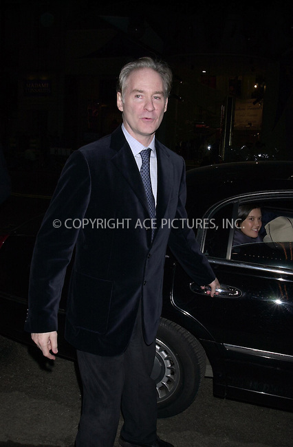 """Kevin Kline and Phoebe Cates at The American Airlines Theater for the opening nigth of """"A Day in The Death of Joe Egg"""" New York.  April 3, 2003. Please byline: ARTHUR J./ACEPIXS.COM   .. *** ***  ..Ace Pictures, Inc:  ..contact: Alecsey Boldeskul (646) 267-6913 ..Philip Vaughan (646) 769-0430..e-mail: info@acepixs.com"""