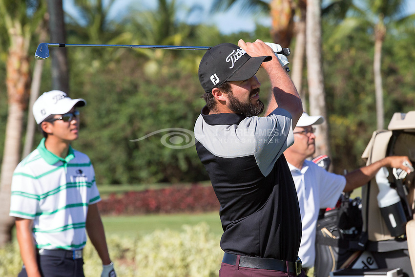 "Puerto Rico Open 2016 Day 1, practice day under a wonderful tropical weather. A great excuse also for a short charity game ""Par 3 Corporate Challenge""."
