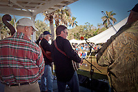 The band Frontline performs at the Third Annual Jammin in the Hammock, Bluegrass Fesival, Collier Seminole State Park, 2010. Photo by Debi Pittman Wilkey