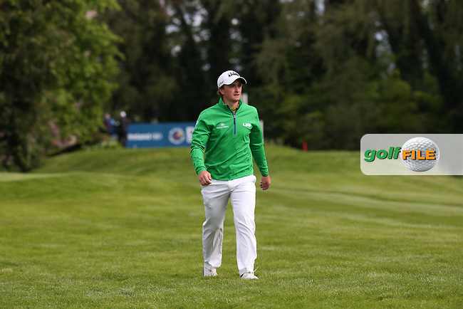 Paul Dunne (IRL) during Round One of the 2016 Dubai Duty Free Irish Open Hosted by The Rory Foundation which is played at the K Club Golf Resort, Straffan, Co. Kildare, Ireland. 19/05/2016. Picture Golffile | David Lloyd.<br /> <br /> All photo usage must display a mandatory copyright credit as: &copy; Golffile | David Lloyd.