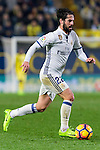 Isco Alarcon of Real Madrid in action during their La Liga match between Villarreal CF and Real Madrid at the Estadio de la Cerámica on 26 February 2017 in Villarreal, Spain. Photo by Maria Jose Segovia Carmona / Power Sport Images