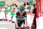 Pawel Poljanski (POL) Bora-Hansgrohe finishes in 6th place at the end of Stage 6 of La Vuelta 2019 running 198.9km from Mora de Rubielos to Ares del Maestrat, Spain. 29th August 2019.<br /> Picture: Colin Flockton | Cyclefile<br /> <br /> All photos usage must carry mandatory copyright credit (© Cyclefile | Colin Flockton)