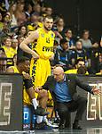 10.05.2019, EWE Arena, Oldenburg, GER, easy Credit-BBL, EWE Baskets Oldenburg vs Mitteldeutscher BC, im Bild<br /> vor dem ersten Heimspiel<br /> Justin SEARS (EWE Baskets Oldenburg #0 ) Mladen DRIJENCIC (EWE Baskets Oldenburg #Trainer #Coach ) Nathan BOOTHE (EWE Baskets Oldenburg #45 )<br /> Foto &copy; nordphoto / Rojahn