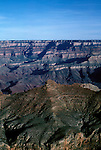 AZ, Arizona, View from South Rim of Grand Canyon National Park, Arizona.Photo Copyright: Lee Foster, lee@fostertravel.com, www.fostertravel.com, (510) 549-2202.azgran215