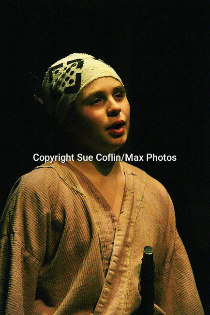 Cast of the play 7 Samurai - December 7 - December 19, 2009 at the Phillipstown Depot Theatre, Garrison, New York. (Photo by Sue Coflin/Max Photos)