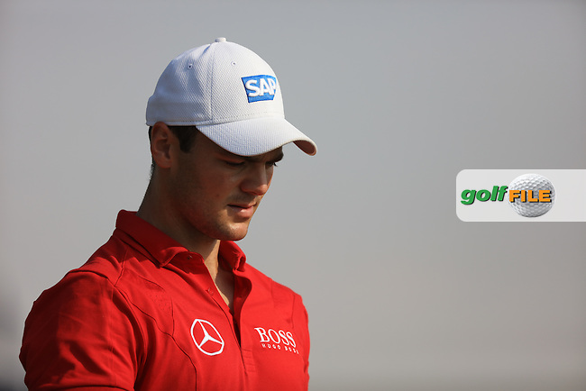 Martin Kaymer (GER) on the 10th tee during the 2nd round of the season ending DP World Tour Championship, Earth Course, Jumeirah Golf Estates, Dubai, UAE.  20/11/2015.<br /> Picture: Golffile | Fran Caffrey<br /> <br /> <br /> All photo usage must carry mandatory copyright credit (&copy; Golffile | Fran Caffrey)