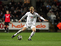 Pictured: Garry Monk of Swansea City in action<br /> Re: Coca Cola Championship, Swansea City FC v Reading at the Liberty Stadium. Swansea, south Wales, Saturday 17 January 2009<br /> Picture by D Legakis Photography / Athena Picture Agency, Swansea 07815441513