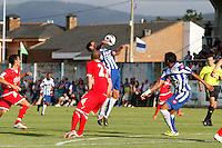 Fecha: 29-07-2012..Deportivo - Sporting de Gijón..Estadio Pepe Barrera, Ribadeo ( Lugo)