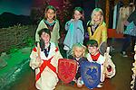 Aidan Hill, Soren Dowds, Joseph Fitzgibbon, Sophia Dowds, Gana Fitzgibbon, Paivi Dowds enjoying the Culture Night at the Kerry Museum on Friday