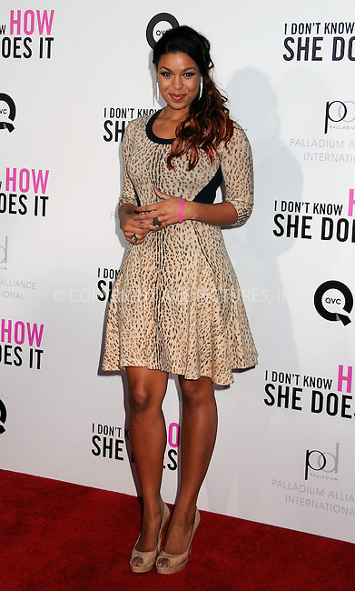 WWW.ACEPIXS.COM . . . . .  ....September 12 2011, New York City....Jordin Sparks arriving at The premiere of 'I Don't Know How She Does It' at AMC Loews Lincoln Square on September 12, 2011 in New York City. ....Please byline: JOE EAST - ACE PICTURES.... *** ***..Ace Pictures, Inc:  ..Philip Vaughan (212) 243-8787 or (646) 679 0430..e-mail: info@acepixs.com..web: http://www.acepixs.com