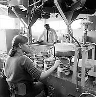M&aacute;lningarverksmi&eth;jan M&aacute;lning, 1969<br /> <br /> The M&aacute;lning paint factory, 1969