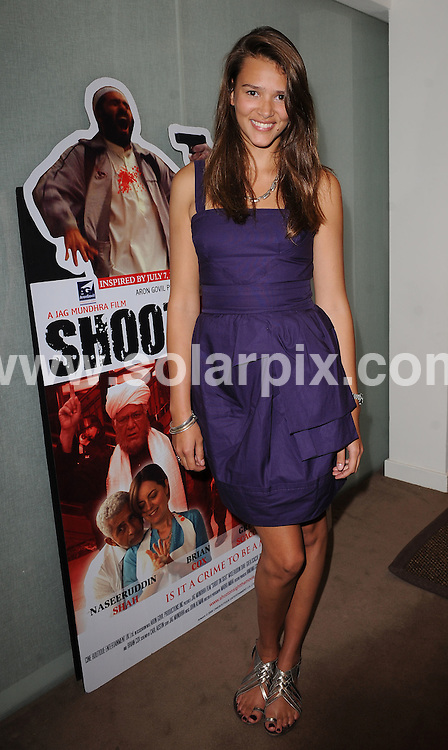 **ALL ROUND PICTURES FROM SOLARPIX.COM**.**WORLDWIDE SYNDICATION RIGHTS**.Press conference for the film 'Shoot On Sight'. Held at the Kempinski Court Hotel, Great Marlborough Street, London, UK. July 22, 2008..This pic: Clemency Burton-Hill..OB REF: 6892 SSD DATE: 22_07_2008.**MUST CREDIT SOLARPIX.COM OR DOUBLE FEE WILL BE CHARGED* *UNDER NO CIRCUMSTANCES IS THIS IMAGE TO BE REPRODUCED FOR ANY ONLINE EDITION WITHOUT PRIOR PERMISSION*
