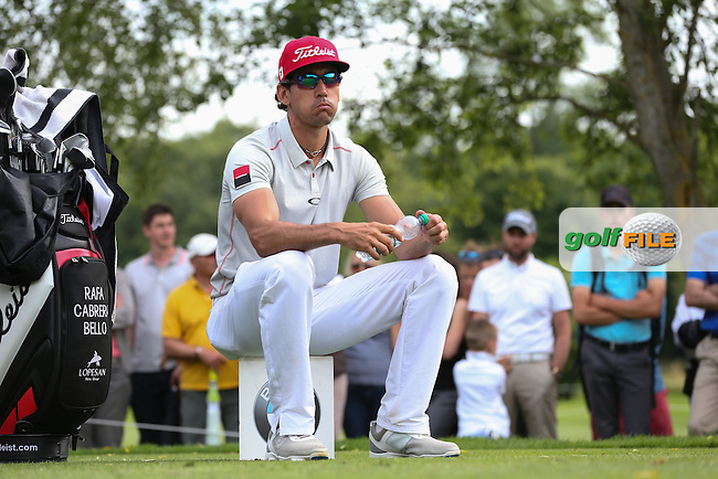 Waiting on the 16th tee is Rafa Cabrera-Bello (ESP) during Round Three of the 2015 BMW International Open at Golfclub Munchen Eichenried, Eichenried, Munich, Germany. 27/06/2015. Picture David Lloyd | www.golffile.ie