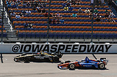 James Hinchcliffe, Schmidt Peterson Motorsports Honda, Scott Dixon, Chip Ganassi Racing Honda