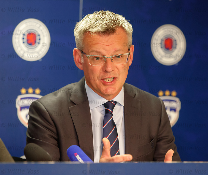 27.09.2018 Rangers FC announce a partnership with Indian professional club Bengaluru FC. Rangers managing director Stewart Robertson