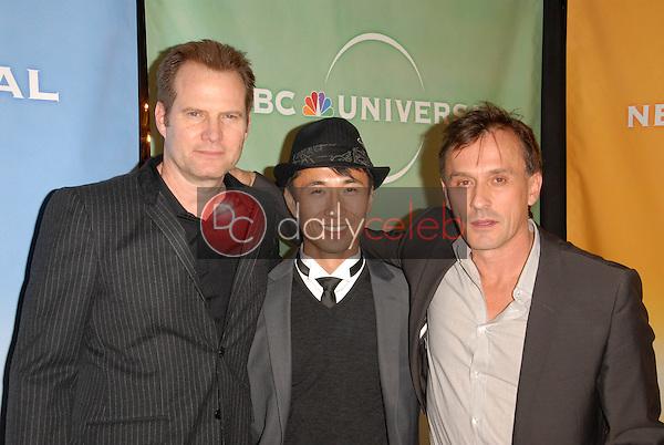 Jack Coleman, James Kyson Lee and Robert Knepper<br /> at NBC Universal's Press Tour Cocktail Party, Langham Hotel, Pasadena, CA. 01-10-10<br /> David Edwards/DailyCeleb.Com 818-249-4998