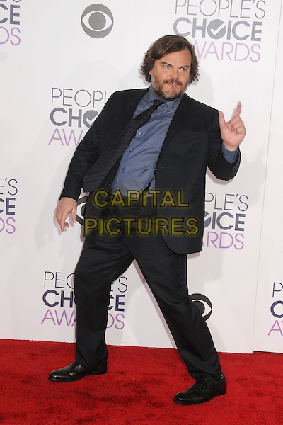 6 January 2016 - Los Angeles, California - Jack Black. People's Choice Awards 2016 - Arrivals held at The Microsoft Theater. <br /> CAP/ADM/BP<br /> &copy;BP/ADM/Capital Pictures