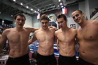 March 28th, 2009:.2009 Men's NCAA Swimming & Diving  Championships held on the Texas A&M campus in College Station, Texas.