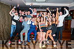 Stephen Ahern, Ballyseedy celebrates his 18th birthday with friends at The Abbey Inn on Friday