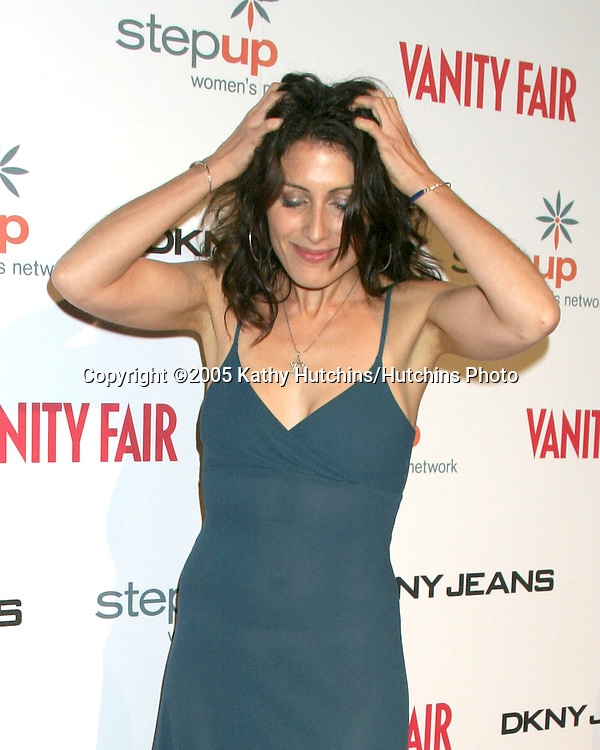 Lisa Edelstein.DKNY Presents Vanity Fair in Concert.El Rey Theater.Los Angeles, CA.October 25, 2005.©2005 Kathy Hutchins / Hutchins Photo