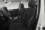 Front seat view of 2017 Mercedes Benz GLE-Class GLE550e-4MATIC® 5 Door SUV Front Seat  car photos