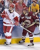 Nick Licari, Peter Harrold - The University of Wisconsin Badgers defeated the Boston College Eagles 2-1 on Saturday, April 8, 2006, at the Bradley Center in Milwaukee, Wisconsin in the 2006 Frozen Four Final to take the national Title.