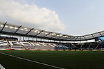 09 June 2011: A view across the field from the northwest corner before the game. Sporting Kansas City played the Chicago Fire to a 0-0 tie in the inaugural game at LIVESTRONG Sporting Park in Kansas City, Kansas in a 2011 regular season Major League Soccer game.
