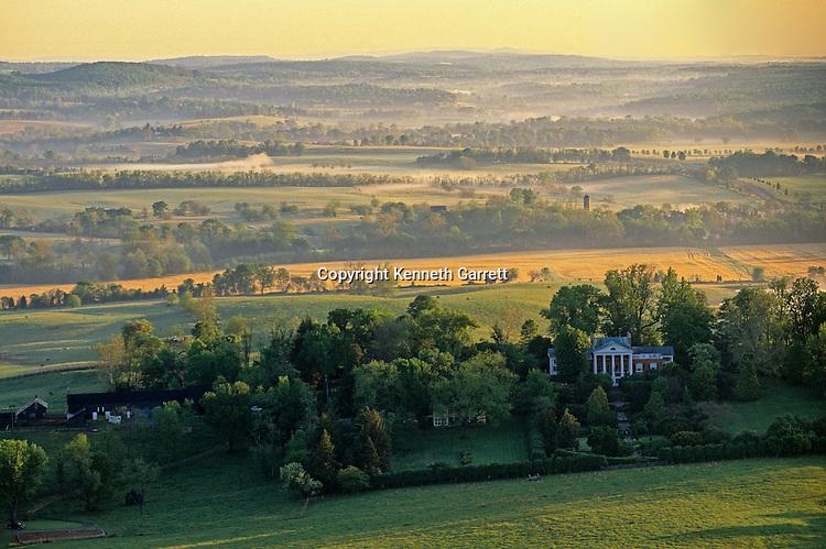 Virginia; Virginia; Aerial; Oak Hill; James Monroe; Hallowed Ground, Cover