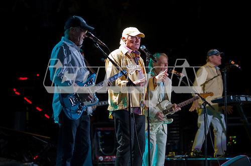 THE BEACH BOYS - David Marks, Mike Love, Al Jardine, Bruce Johnston - performing live at Verizon Wireless Amphitheatre in Irvine, CA USA - June 3, 2012.  Photo: © Kevin Estrada / Iconicpix
