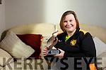 Vicky McCarthy, Manor Tralee, winner of the Spirt of Triathlon Award for 2017