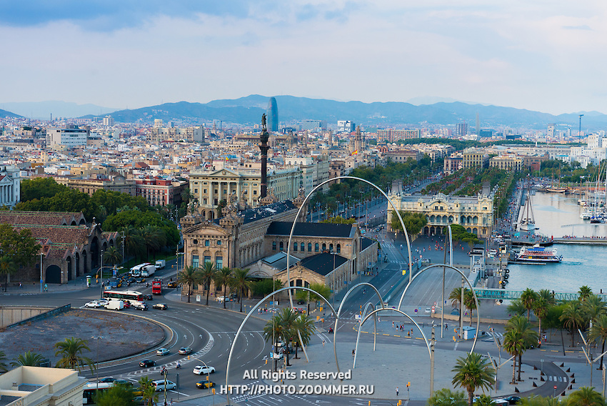 Barcelona port district, Spain