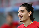 Spain's Hector Bellerin in action during training at the Stadion Cracovia in Krakow. Picture date 29th June 2017. Picture credit should read: David Klein/Sportimage