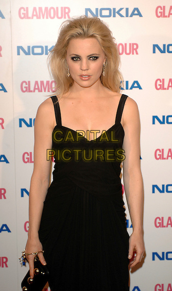 MELISSA GEORGE.The Glamour magazine 3rd Annual Women Of The Year Awards, Berkley Sqaure, London, England..June 6th, 2006.Ref: BEL.half length  black dress.www.capitalpictures.com.sales@capitalpictures.com.© Capital Pictures.