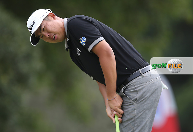 Byeong-hun An (Kor) carded a flawless 65 with two eagles in the bag during Round Two of the Africa Open 2015 at the East London Golf Club, East London, Eastern Cape, South Africa. Picture:  David Lloyd / www.golffile.ie. 06/03/2015