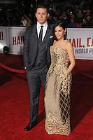 "1 February 2016 - Westwood, California - Channing Tatum, Jenna Dewan Tatum. ""Hail, Caesar!"" Los Angeles Premiere held at the Regency Village Theatre. Photo Credit: Byron Purvis/AdMedia"