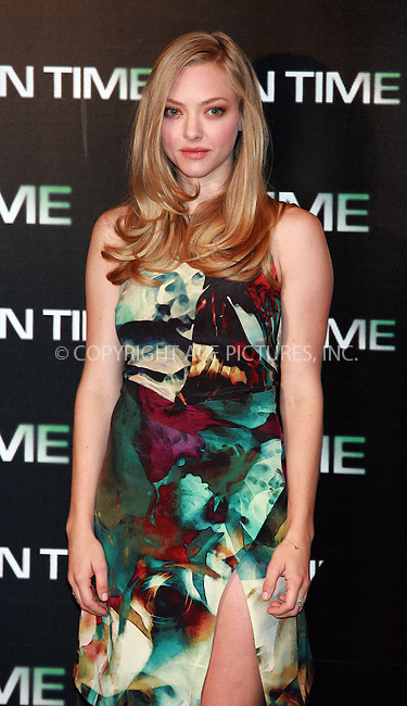WWW.ACEPIXS.COM . . . . .  ..... . . . . US SALES ONLY . . . . .....November 3 2011, Madrid....Actress Amanda Seyfried at the 'In Time' photocall at Villa Magna Hotel on November 3, 2011 in Madrid, Spain.....Please byline: FD/ACE Pictures, Inc.... . . . .  ....Ace Pictures, Inc:  ..Tel: (212) 243-8787..e-mail: info@acepixs.com..web: http://www.acepixs.com