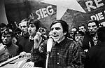 Germany - Berlin - West-Berlin, Technical University: International Vietnam Congress against the war in Vietnam, organized by the SDS Sozialistische Deutsche Studentenbund (Socialist German Student Union), Rudi Dutschke (SDS) holding a speech